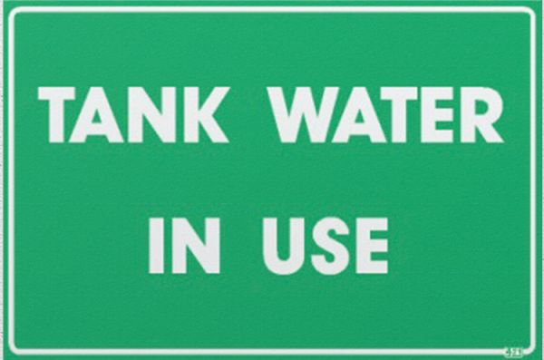 Tank Water in Use (Metal)